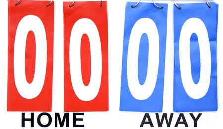quo: scoreboard home vs away draw zero pints status quo