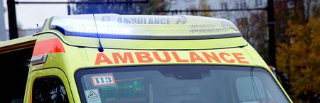 ambulance minivan emergency