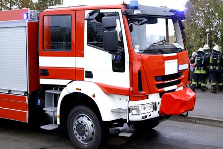 fireman truck 112