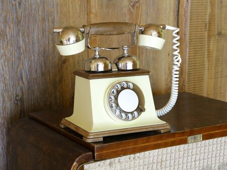 telephone analog vintage wire call
