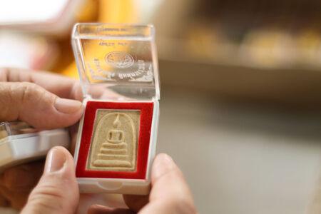 amulet: Buddha Amulet in the box