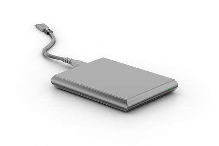 external: External hard disk