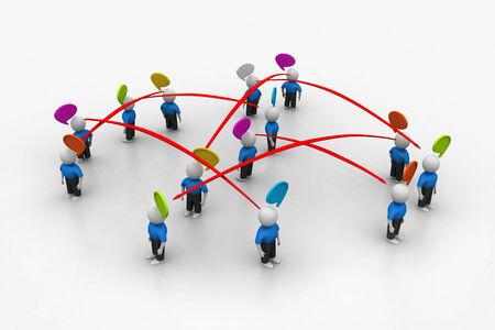 networking people: Redes de personas Foto de archivo