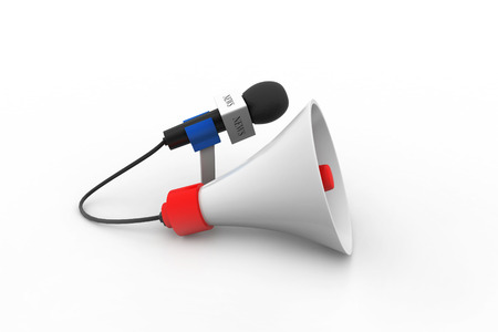 amplify: Microphone with loudspeaker
