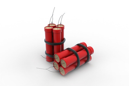 detonate: dynamite