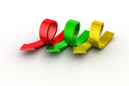 incremental: Bend arrows