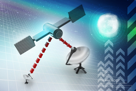 antennas: satellite dish antennas