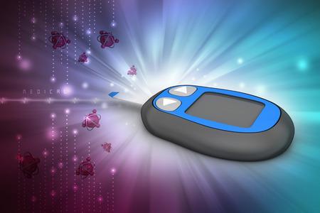 hypoglycaemia: blood glucose test strips