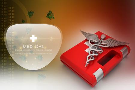 first aid box: Botiqu�n de primeros auxilios