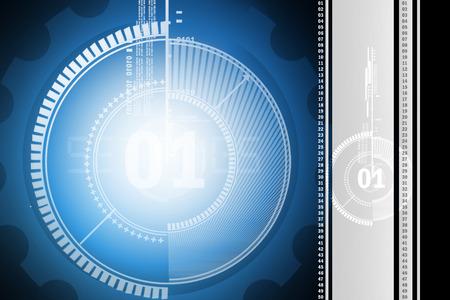 torrent: Technology background Stock Photo