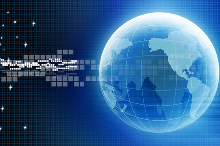 Internet Concept of global business from concepts
