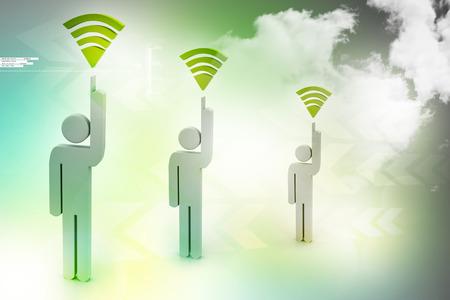 communication concept: Communication concept Stock Photo