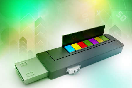 usb flash drive: usb flash drive and books