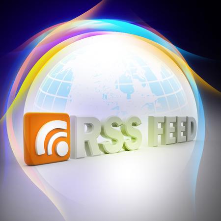 interface menu tool: RSS feed sign