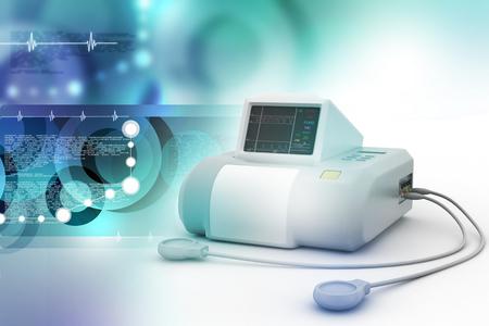 Fetal monitor 스톡 콘텐츠