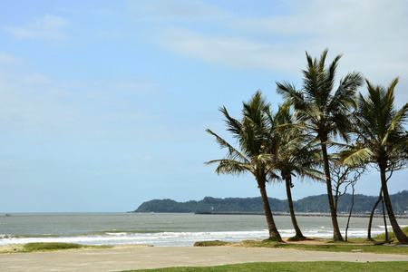 Landscape from Navegantes Beach in Brazil Banco de Imagens