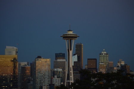 Seattle Skyline Banco de Imagens