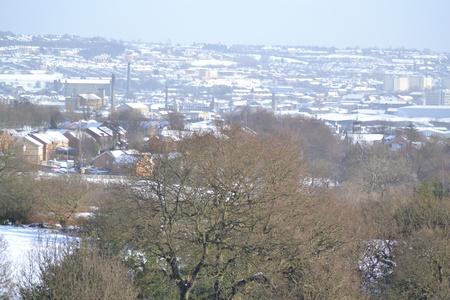 Bradford in the snow Stock Photo - 18107379