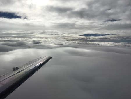 cotton: Cotton clouds Stock Photo