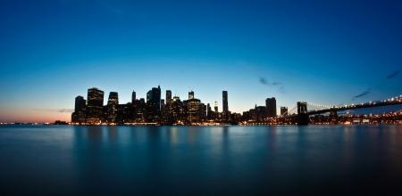 New York City Sunset photo