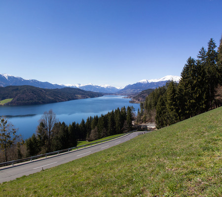 View To Lake Millstatt In Spring
