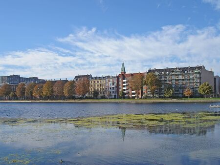 Center of Copenhagen, the capital of Denmark Stock Photo