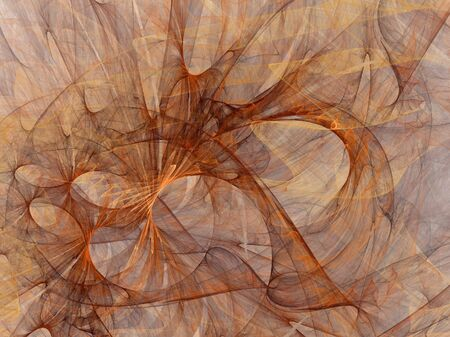 Abstract fantasy fractal flame background photo