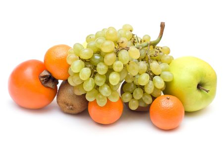 Small collection of fruits isolated Stock Photo - 6272451