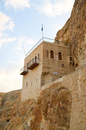 coptic orthodox: Monastery of Temptation, Palestine, Israel