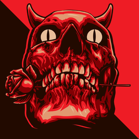dangerous love: Devil Skull Romance