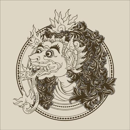 balinese: Balinese Monster