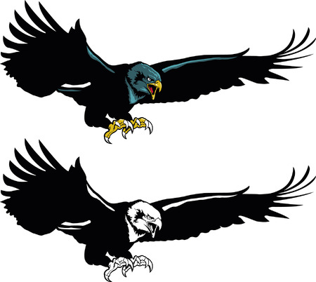 Flying Eagle Mascot