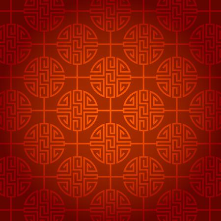 추상적 인 중국 새 해 배경 벡터 디자인 일러스트