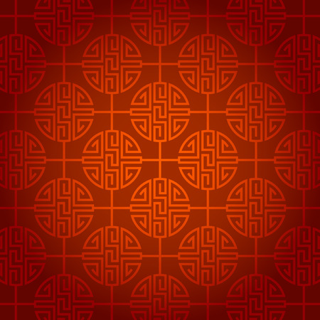 abstract chinese new year background vector design Banco de Imagens - 36626434
