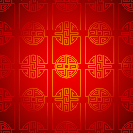 chinese new year snake: abstract chinese new year background vector design Illustration