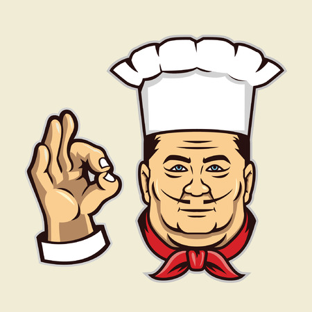 Chef Face Banco de Imagens - 44099345
