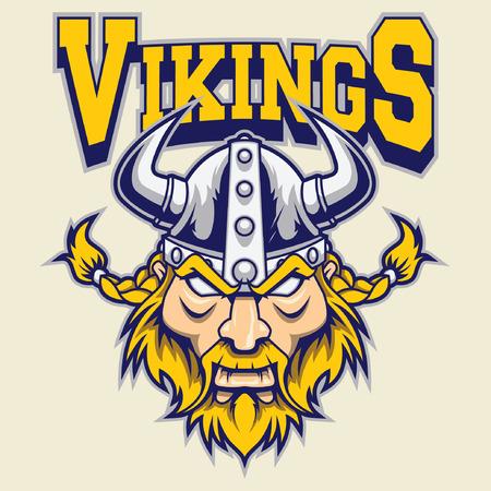 viking helmet: viking warrior mascot