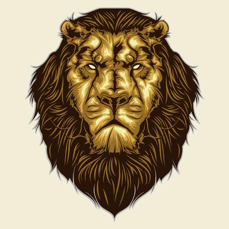 사자 머리 마스코트