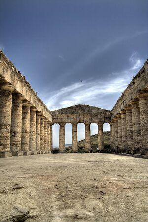doric: Segesta, sicily, italy doric temple