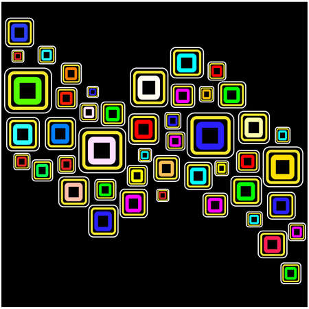 Vector background with squares Stock Vector - 11446665