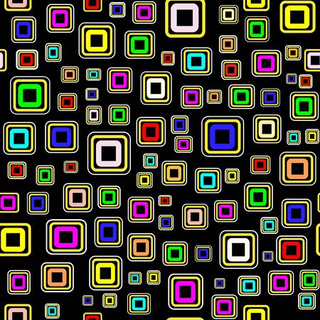 combinations: Vector seamless wallpaper with squares