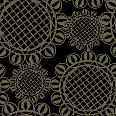 grating: Vector seamless ornament texture