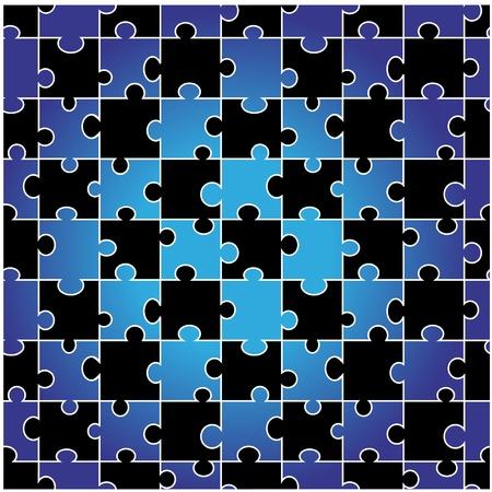 Vector seamless puzzle Stock Vector - 11446178