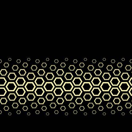 snake leather: Vector golden design