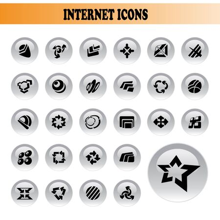 Vector collection of icons Stock Vector - 11446154