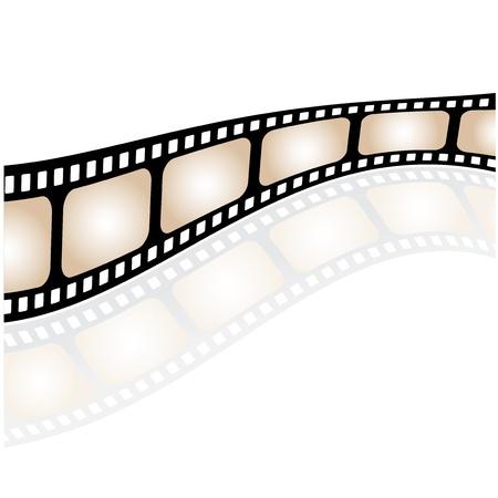 rollo pelicula: Vector de la película