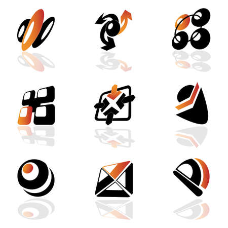 Collection of vector symbols Stock Vector - 11446403