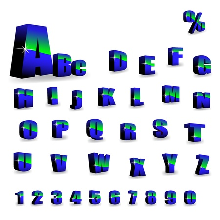 Vector alphabet Stock Vector - 11446098