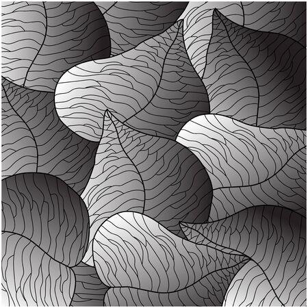 paper folding: Vector  textured Illustration