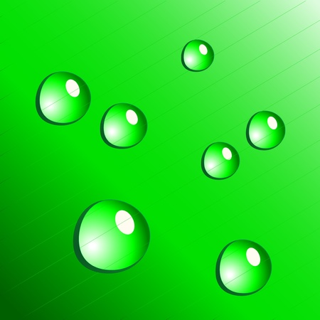 Vector water drops Stock Vector - 11446426